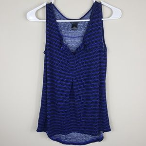 Ann Taylor | Women's Royal Blue Tank Top